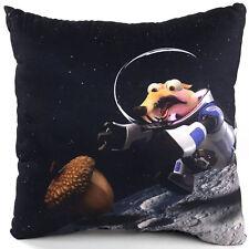 Original Ice Age 5 - Astronaut Scrat Mond Deko Kissen Kuschelkissen 35 x 35 cm