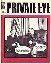 Private Eye Mag # 52  13 December 1963  LBJ Lyndon Johnson  Alec Douglas-Home MP