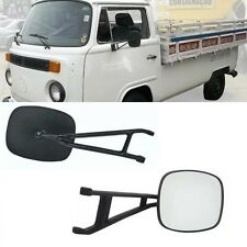 VW Bus 1968-1979 Black Side Mirror Pair 2pcs Transporter Type 2 Van Kombi T2 Pic