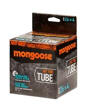 Mongoose Bicycle Tube for Fat Tire Bikes, Schrader Valve, Multiple Sizes