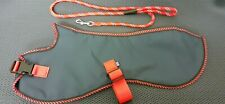"""WHIPPET WATERPROOF COAT BREATHABLE LINING FITS 20"""" BACK 1.5M ROPE LEAD (SET)"""