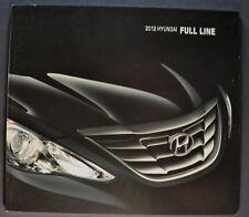 2012 Hyundai Brochure Elantra Accent Sonata Tuscon Veloster Genesis Equis Azera