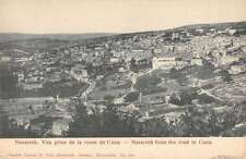 Nazareth from the road to Cana Antique Postcard L982
