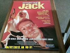 Divorcing Jack (david thewlis) Movie Poster A2