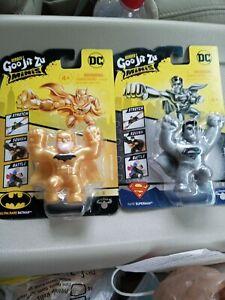 Goo Jit Zu Minis Batman And Superman