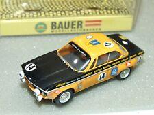 Bauer #0900 Bmw 2800 Cs Alpina Ho Slot Car With Original Box