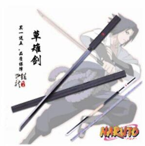 ZAOZHI Sword Cosplay Anime Naruto Uchiha Sasuke Katana Prop PU Model