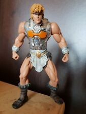BATTLE SOUND HE-MAN Silver Armour Masters of the Universe Figure 2001 Mattel