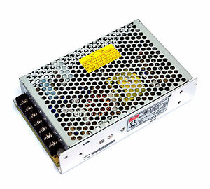 1 Switching Power Supply SE-100-12 12V 8.5A 100W AC85~264V 159x97x38mm Mean Well