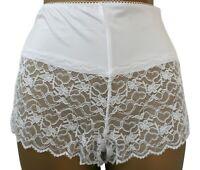 Black Lace Shorts Panties Soft Sensuous Sheer Fabric Sissy Knickers S M L XL