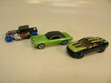 Hot Wheels Die-cast Three Cars