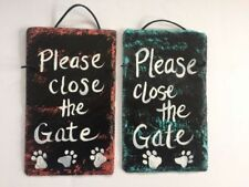 Outdoor Signs/Plaques