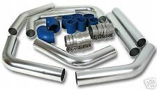 INTERCOOLER + ALUMINIUM PIPING + HOSE KIT 63MM /2.5 INCH (8 PIPES) - UNIVERSAL