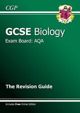 GCSE Biology AQA Revision Guide (with online edition) (A*-G course),CGP Books