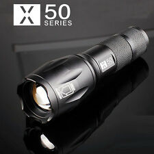 New Military Grade Tactical Flashlight LED X-50 Warsun TC2000 TC1200 800 Design