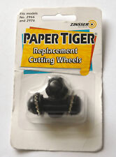 Zinsser Paper Tiger Replacement Cuting Wheels 2981 Fits Models No. 2966, 2976