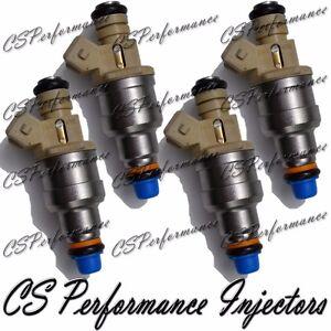 OEM Fuel Injectors (4) Set for 94-97 Mazda B2300 2.3 I4 95 96