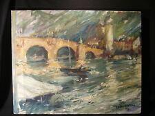 Heidelberg am Neckar Baden Württemberg wie Lovis Corinth Impressionist 1941 NRW