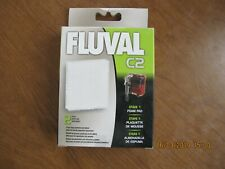Fluval C2 Stage 1 Foam Pad Filter Replacement Filtration Fish Aquarium 2-Pack