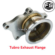 """T3/T4 For Turbo 5 Bolt to 3"""" V-Band Flange Turbo Adaptor Stainless Steel Adapter"""