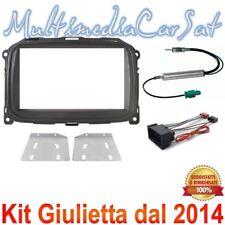 Kit Cambio Autoradio Mascherina Cavo Antenna Giulietta dal 2014 3688