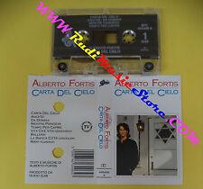 MC ALBERTO FORTIS Carta del cielo 1990 italy EPIC 466496 4 no cd lp vhs dvd