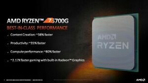 AMD Ryzen 7 Cezanne 5700G (New Cpu Pull)
