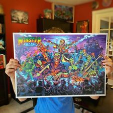 Monster Bash 14″X20″ Limited Edition Poster Signed and Numbered