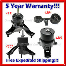 New Engine Motor /& Trans Mount Set 2 For 02-06 Toyota Camry 2.4L M224 4203 4207