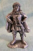"Selandia Pewter Viking Figurine Bjarni Herjolfsson 1994 Norway 3 5/8"""