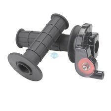 "Pair Rubber 7/8"" Twist Throttle Grip Cable For 50cc to 250cc Pit Dirt Bike ATV"