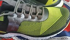 💕💕💕 JOANNE MERCER BRONX Fabric BOUNCE BLACK/LIME SILVER 39/8 RUNNING SHOES💟