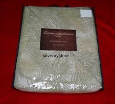Tommy Bahama TOSSED PALM 3 piece Full Queen Quilt + Standard Shams