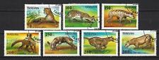 Tanzanie 1996 animaux sauvages (131) Yvert n° 1913 à 1919 oblitéré used