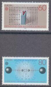 Germany 1983 MNH Mi 1175-1176 Sc 1392-1393 Europa / Discoveries ** Hertz