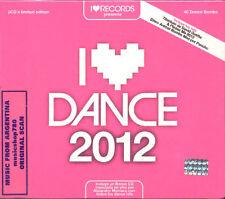 I LOVE DANCE 2012 SEALED 2 CD SET NEW DAVID GUETTA DJ DERO ENGEL DEF MOTION