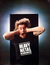 HEAVY-METAL HEADBANGERS 1981 CBS VINTAGE PROMO POSTER ORIGINAL