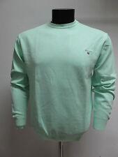 GANT maglione uomo cotone girocollo art.88171 col.VERDE MENTA TG.2XL estate 2011