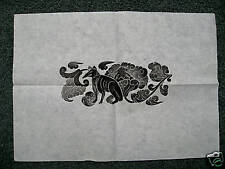 Chinese Tibetan Temple Rubbing Art Rice Paper 13x19 RARE