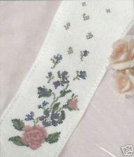 "País Floral Aida Banda Cross Stitch Kit-Dmc - 4 ""x 21"" - 14 Count"