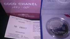 5 euros Francia 2008. Coco Chanel. Proof