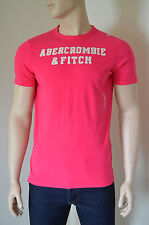 NEW Abercrombie & Fitch Cellar Mountain Pink Tee T-Shirt L