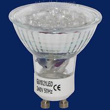 8 GU10 21 LED Energy Saving Bulbs £25.99 delivered