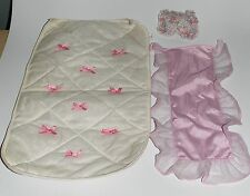 Barbie couverture taie pour lit Sweet Roses Living Pretty 80er 90er Années Vintage a