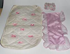 Barbie manta referencia para cama Sweet Roses Living Pretty 80er 90er años vintage a