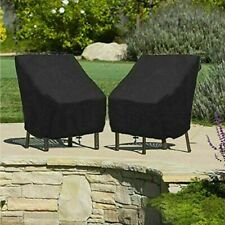 Waterproof High Back Chair Cover Outdoor Patio Garden Furniture Protector Wrap