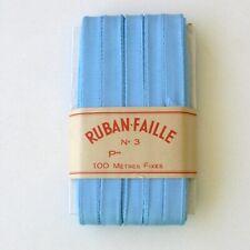 Ruban ancien Ruban Faille n°3 - 100mètres  -Largeur 12mm -neuf