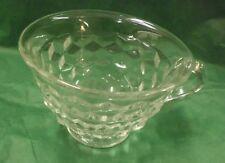 "Fostoria 'American' Tea Cup, Footed, 2 1/2"" tall - Crystal - 1915"