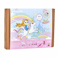 Unicorn Themed Art and Craft Kit for Girls | 6 Craft Projects-in-1 | Best Girl