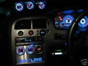Nissan Skyline R33 GTST Stereo Blank gauge plate GT-ST